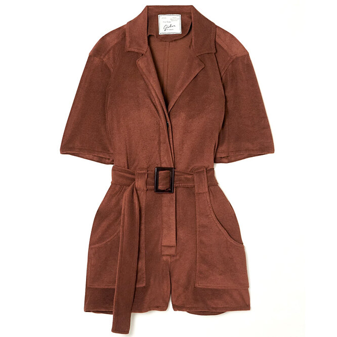 """<a href=""""https://www.net-a-porter.com/en-ru/shop/product/giuliva-heritage/the-sienna-belted-cotton-terry-playsuit/1321331"""" target=""""_blank"""">GIULIVA HERITAGE</a>,&nbsp;44 513 руб."""