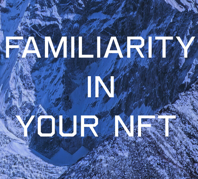 "Rulton Fyder ""FAMILIARITY IN YOUR NFT"", 2021"