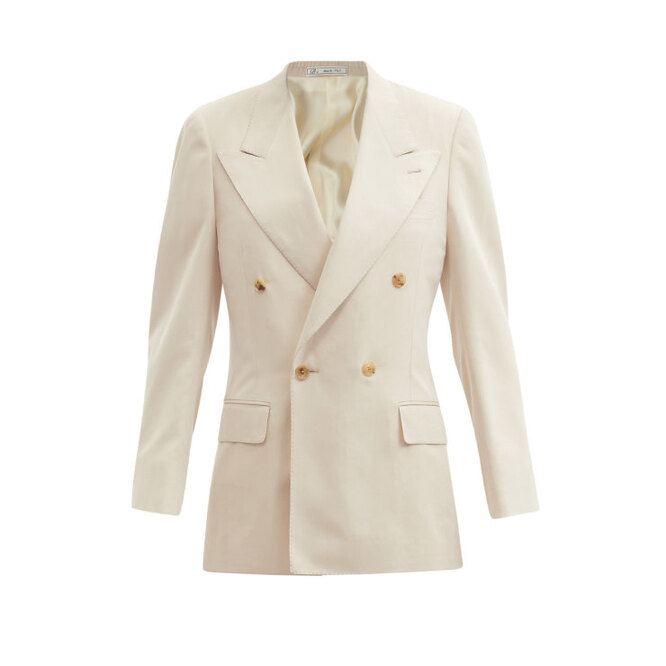 """<a href=""""https://www.matchesfashion.com/intl/products/Umit-Benan-B%2B-Andy-double-breasted-silk-twill-suit-jacket-1407859"""" target=""""_blank"""">UMIT BENAN B+, 282 650 руб.</a>"""