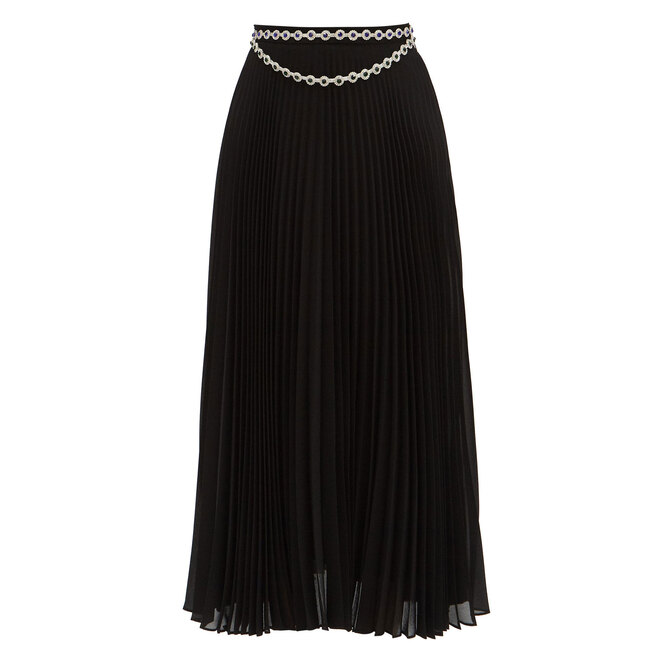"""<a href=""""https://www.matchesfashion.com/intl/products/Christopher-Kane-Jewelled-pleated-crepe-skirt-1364580"""" target=""""_blank"""">CHRISTOPHER KANE,&nbsp;58&nbsp;345&nbsp;руб.&nbsp;</a>"""