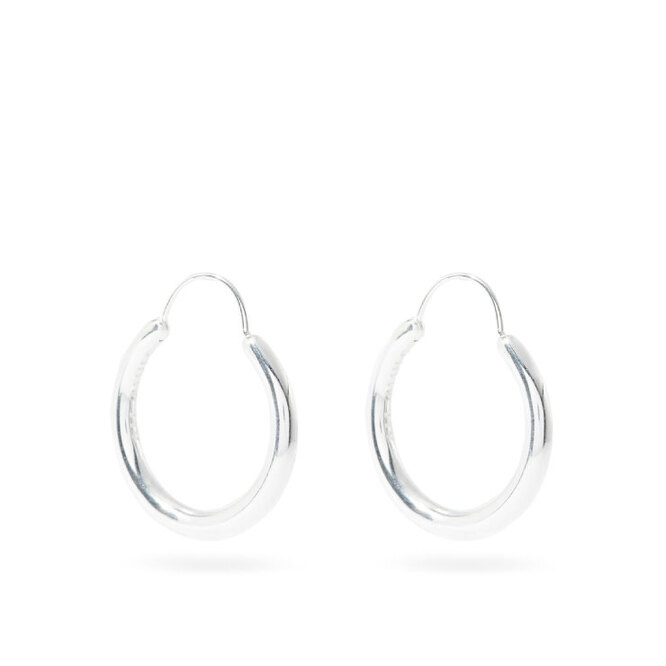 """<a href=""""https://www.matchesfashion.com/intl/products/All-Blues-Hungry-Snake-sterling-silver-hoop-earrings-1336457"""" target=""""_blank"""">ALL BLUES, 20 170 руб.</a>"""