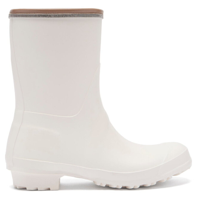 """<a href=""""https://www.matchesfashion.com/intl/products/Brunello-Cucinelli-Leather-trimmed-rubber-rain-boots-1403829"""" target=""""_blank"""">BRUNELLO CUCINELLI</a>, 20 195 руб."""