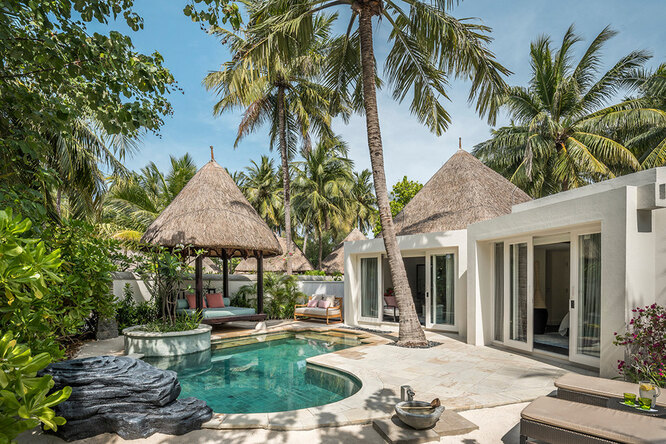 TWO-BEDROOM BEACH PAVILION WITH POOL