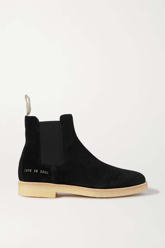 """<a href=""""https://www.net-a-porter.com/en-ru/shop/product/common-projects/suede-chelsea-boots/1252856"""" target=""""_blank"""">COMMON PROJECTS</a>,&nbsp;34&nbsp;844 руб"""